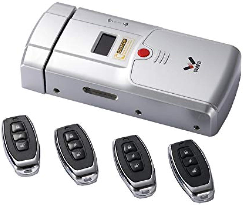 WEINANA WAFU Smart Lock HF-011A Bluetooth Enabled Fingerprint Fingerprint Fingerprint and Touchscreen Keyless Smart Lock Deadbolt with Built-In Alarm B07Q5SLG4Z  f72439