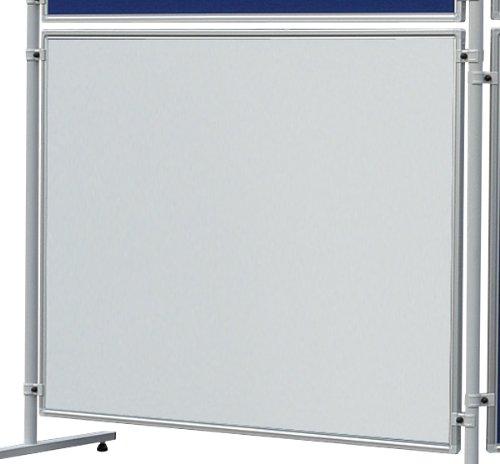 Franken EL-UTS150 Magnetische Schreibtafel Eco (120 x 150 cm) weiß