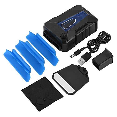 Agatige Vacío más Fresco del Ordenador portátil, Mini Aire 5V Que extrae la Fan de enfriamiento del refrigerador del Cuaderno del Ordenador portátil del USB