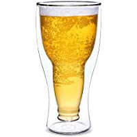 Dragon Glassware Insulating Double Walled Beer Glass