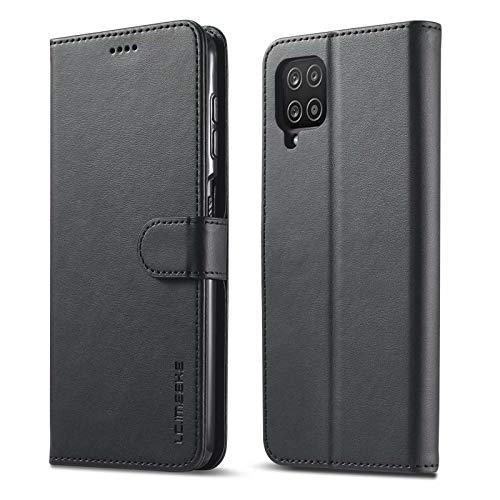 iLovecover Funda Compatible con Samsung Galaxy A8 2018/A5 2018,Premium Cartera Carcasa de con Ranura para Tarjeta Caso para Samsung Galaxy A8 2018/A5 2018,Negro