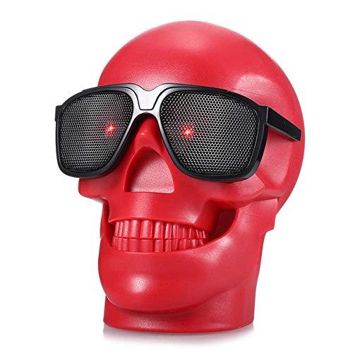 WOHAO Medios Dispositivo de Streaming Altavoces cráneo Bluetooth NFC 15W Altavoz Manos...