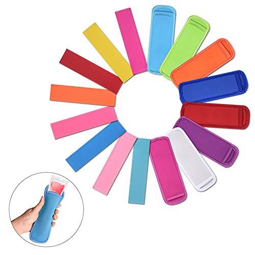 Sublimation Blanks Ice Pop Sleeves Popsicle Holder Bags Original Neopren Gefrierschrank Popsicle Covers 16 Stück