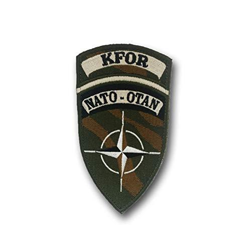 Parche KFOR de la OTAN, Kosovo Force tropa, soldados militares #25105