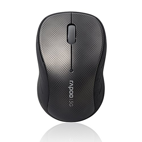 Rapoo 3000p Wireless Optical Maus (5 GHz, 1000 DPI) grau