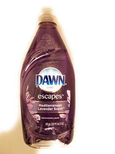 Dawn Dish Soap Lavender 1 Count (Packaging May Vary)