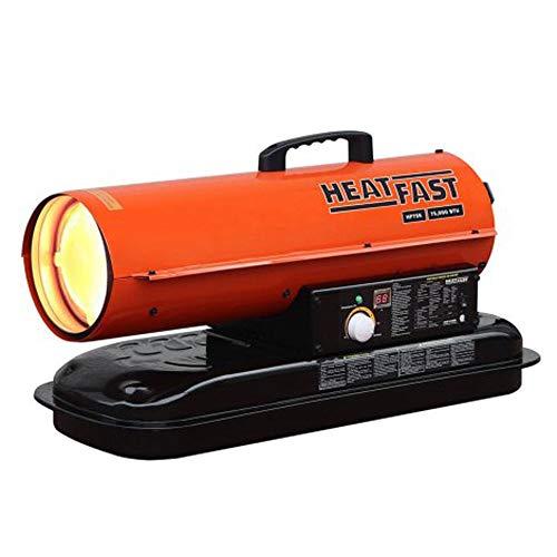HeatFast Force air heater, 75K, orange