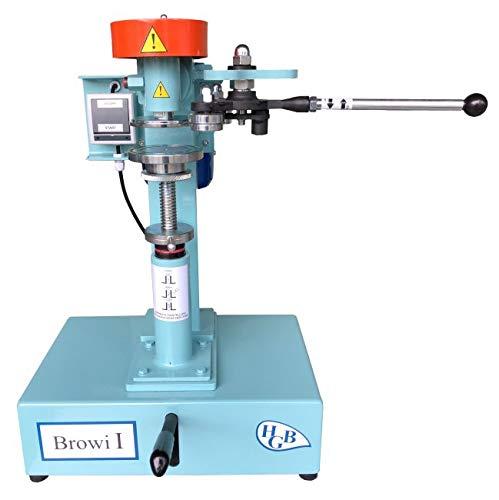 HGB Maschinen und Geräte Elektrische Tisch-Dosenverschließmaschine BROWI 1