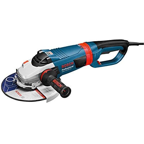 Bosch Professional Winkelschleifer GWS 26-230 LVI (Scheiben-Ø: 230 mm, 2.600 Watt, mit KickBack-Stop & Anlaufstrombegrenzung, Handgriff mit Vibrationsdämpfung, im Karton)