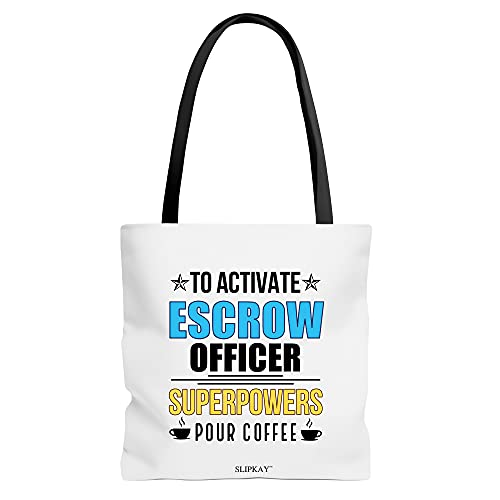 Escrow Officer Superpowers Toe Bag