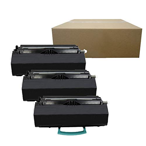 Inktoneram Compatible Toner Cartridges Replacement for Dell 2350dn 2330d 2330dn 2350d [6,000 Pages] 330-2666 330-2649 (Black, 3-Pack)