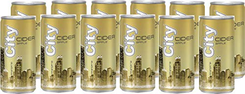 City Apple Cider Dose Apfelweinhaltiges Getränk (12 X 0.2 L)