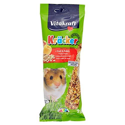 Vitakraft C-90035 - Barrita de cereales recubierta con fruta