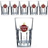 Havana Club - Vaso de agua y de whisky (15309)