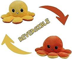 MAGIC SELECT Peluche Pulpo Reversible, Peluche de Juguete, Lindo Pulpo de Peluche, Flip Octopus Doble Cara, Juguetes...