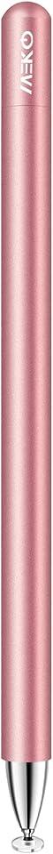 MEKO Eingabestift Disc Touch Pen, 2 in 1 Stylus Pen universal Touchstift 100% kompatibel mit alleTablets Touchscreen iPhone iPad Surface Hauwei usw, magnetische Kappe (Rose Gold)