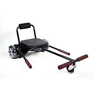 Asiento para Hoverboard o Karting Smartboard para giropodo, Scooter, Hoverboard, negro
