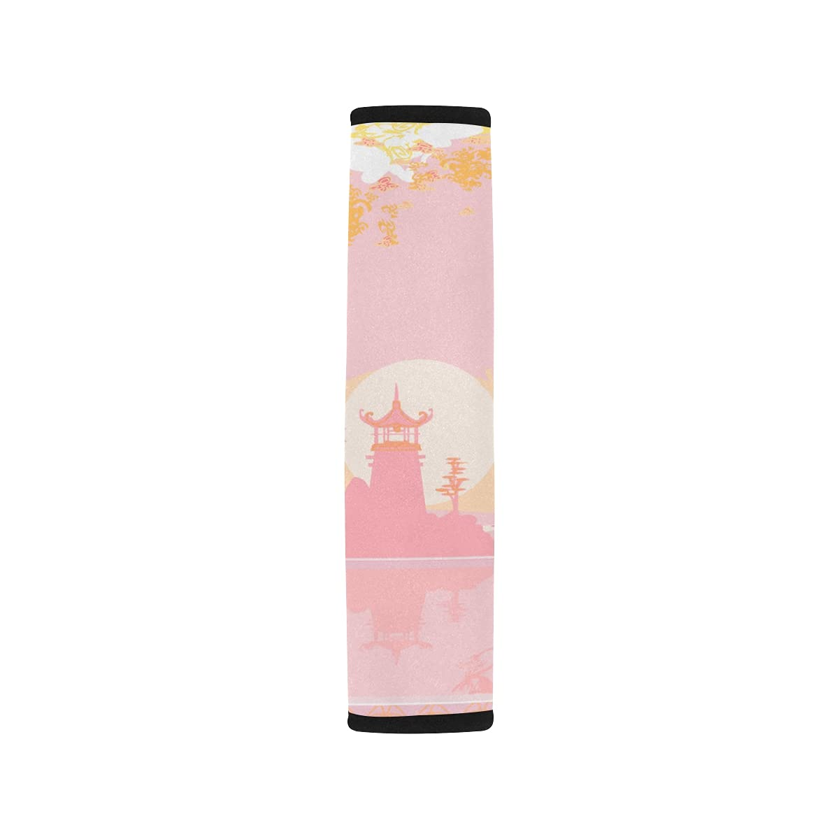 2pcs Car Seat Belt Cover Milwaukee Mall Old Asian Chinese Oakland Mall Paper Landscape Lante