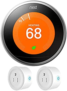 nest white e thermostat vs 3rd generation