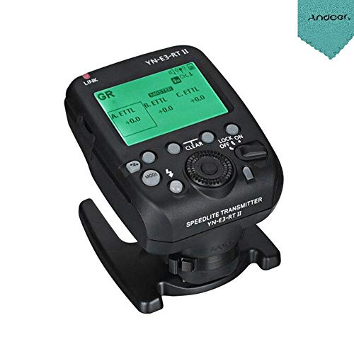YONGNUO YN-E3-RT II Trasmettitore Speedlite Flash On-Camera Flash Trigger compatibile per ST-E3-RT / 600EX-RT / YN-E3-RT / YN968EX-RT / YN600EX-RTII / YN686EX-RT / YNE3-RX