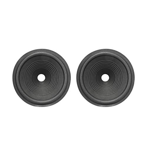 Best Deals! uxcell 8 inches Paper Speaker Cone Subwoofer Drum Ripple Paper 1 inches Coil Diameter wi...
