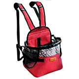 Cinf Dog Carrier Bag Red-M Pet Carrier Backpack Small Medium Dog Cat,Front Cat Dog Carriers Backpack...