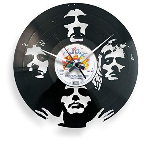 Disc'O'ClockOrologio In Vinile Da Parete Lp 33 Giri Silenzioso BOHEMIAN RHAPSODY, IDEA REGALO A TEMA QUEEN