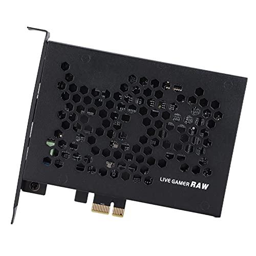 Tarjeta De Captura Live Gamer Full HD, Tarjeta De Captura PCIe 4Kp30 1080p120 1440p60 RGB, Transmisión De Velocidad Ultra Alta PCIE Gen2, Soporte para Medios De Transmisión UVC/Pip
