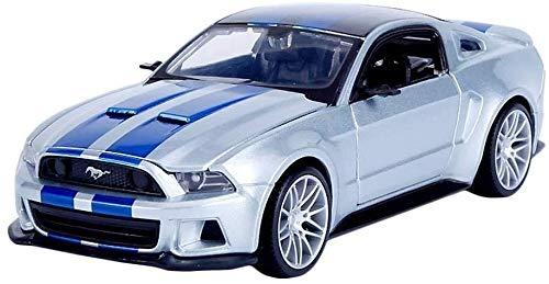 hongshen 1:24 Modelo de Coche Ford Mustang GT aleación Coche Colección decoración Regalo Regalos Chico/fundición a presión de 20 x 8 x 4,5 cm
