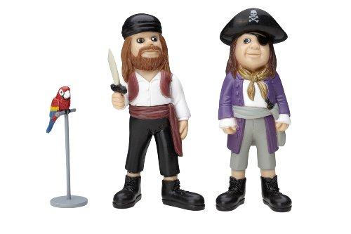 Micki Pippi 2 Figurines Pirates et Rosalinda