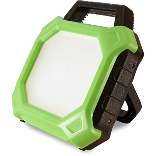 FeinTech LAL00220 werklamp accu-bouwlamp LED-lamp draadloos 20 W 1400 lumen IP54 IK08 outdoor, groen-zwart