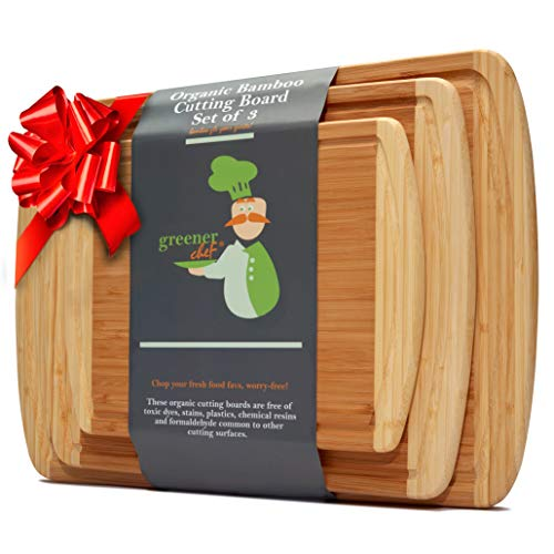 XXXL Extra Large Wood Butcher Block Cutting Board for Carving Turkey - 30 x 20 x 0.75 Inch Wooden...