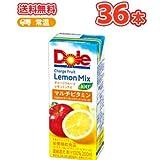 Dole チャージ フルーツ レモンミックス 100% マルチビタミン【200ml×18本入】2ケース紙パック