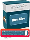MonDico - Editor of digital dictionaries, lexicons and glossaries - Professional License - 3 computers