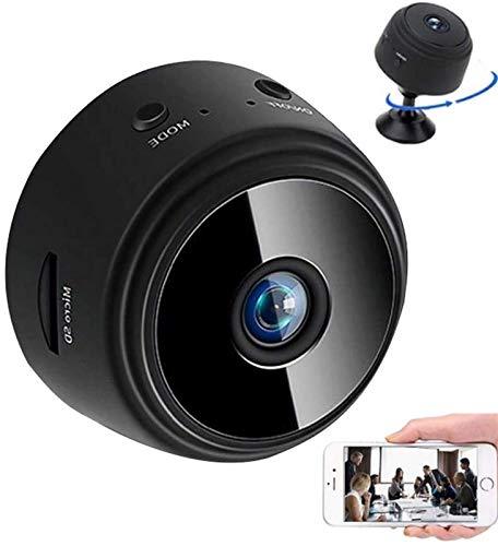 Abcoll Mini-Kamera WiFi Hauptkamera for Baby/Tier/Nanny 1080P HD Indoor WiFi Wireless Security Kamera Mit Bewegungserkennung (32G SD-Karte Im Lieferumfang Enthalten)