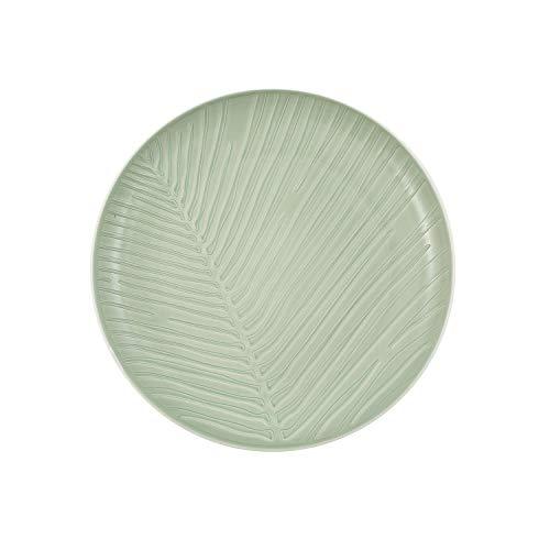 Like. by Villeroy & Boch – it's my match mineral Leaf assiette, assiette élégante pour une utilisation quotidienne, porcelaine premium, vert, blanc, a