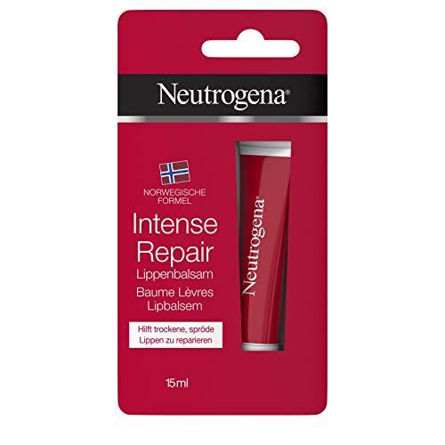 Neutrogena Norwegische Formel Lippenpflege, Intense Repair, für trockene Lippen, 15ml