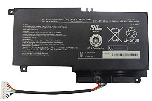 PA5107U-1BRS Reemplazo de la batería del portátil para Toshiba Satellite L50 L50-A L55 L55t L40-A L40D L45D L55-A L55D-A L55DT-A P50 P50-A P50-b P55t-a P55t-A5116 S55-A5295 S55t-A5202 (14.4V 43Wh)