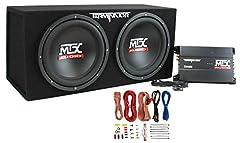 """**Subwoofer:** NEW MTX TNP212D2 12"""" 1200 WATT DUAL Bass Package System Box Content: 2) MTX Subwoofers MTX Subwoofer Box"""