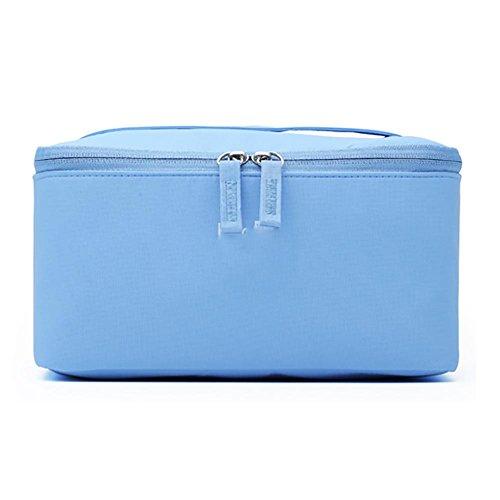Sac de lavage à main imperméable et imperméable pour les femmes à grande capacité , light blue
