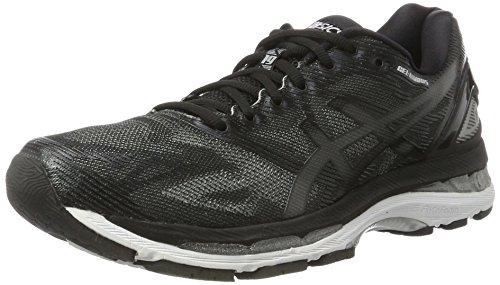 Asics Gel-Nimbus 19, Zapatillas de running Para Mujer, Negro (Black/Onyx/Silver), 37 EU