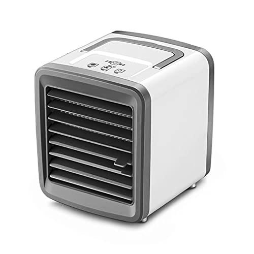 SONGHUA 11 USB Mini acondicionador de Aire portátil Humidificador Purificador 7 Colores Luz de Escritorio Aire de refrigeración Aire Ajuste para Oficina
