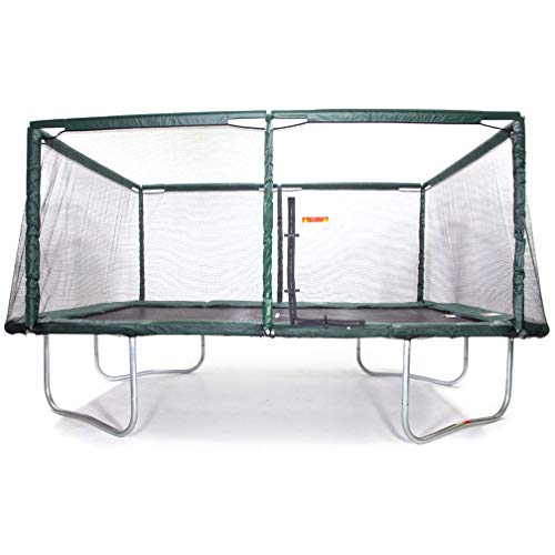 MX Pro Rectangle Trampoline 10x17 Feet with Safety Net Enclosure Stock No. JHX-1017FT