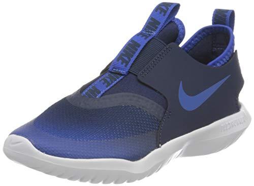 Nike Flex Runner (PS), Zapatillas para Correr Unisex niños, Juego Royal Game Royal Midnight Navy White, 27.5 EU