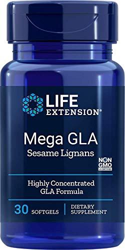 Life Extension Mega Gla Sesamo Lignans 30 Softgels - 60 g