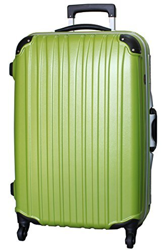 [ビータス] スーツケース ハード 4輪 BH-F1000 保証付 80L 76 cm 6kg エンボスライムグリーン
