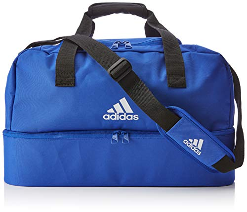 adidas TIRO DU BC S, Unisex-Erwachsene Rucksack, Blau (Azufue/Blanco), 24x15x45 cm (W x H L)