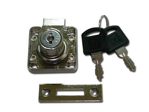 ランプ面付シリンダー錠 507-11 同一カギタイプ