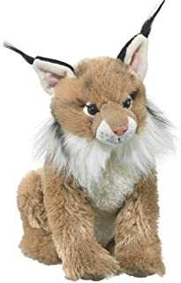 Wildlife Artists Lynx Plush Stuffed Animal Soft Toy