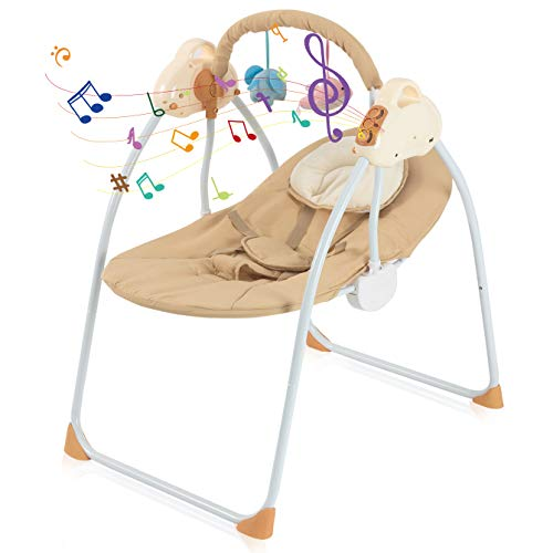 41iTUyqRkjL 10 Best Portable Baby Swings on the Market 2021 Review